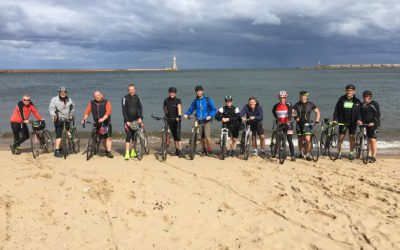12 Musketeers complete Coast2Coast to raise money for Bank House